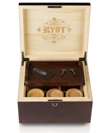 """RYOT - LOCK-R Box (11 x 10"""") Humidor Series"""