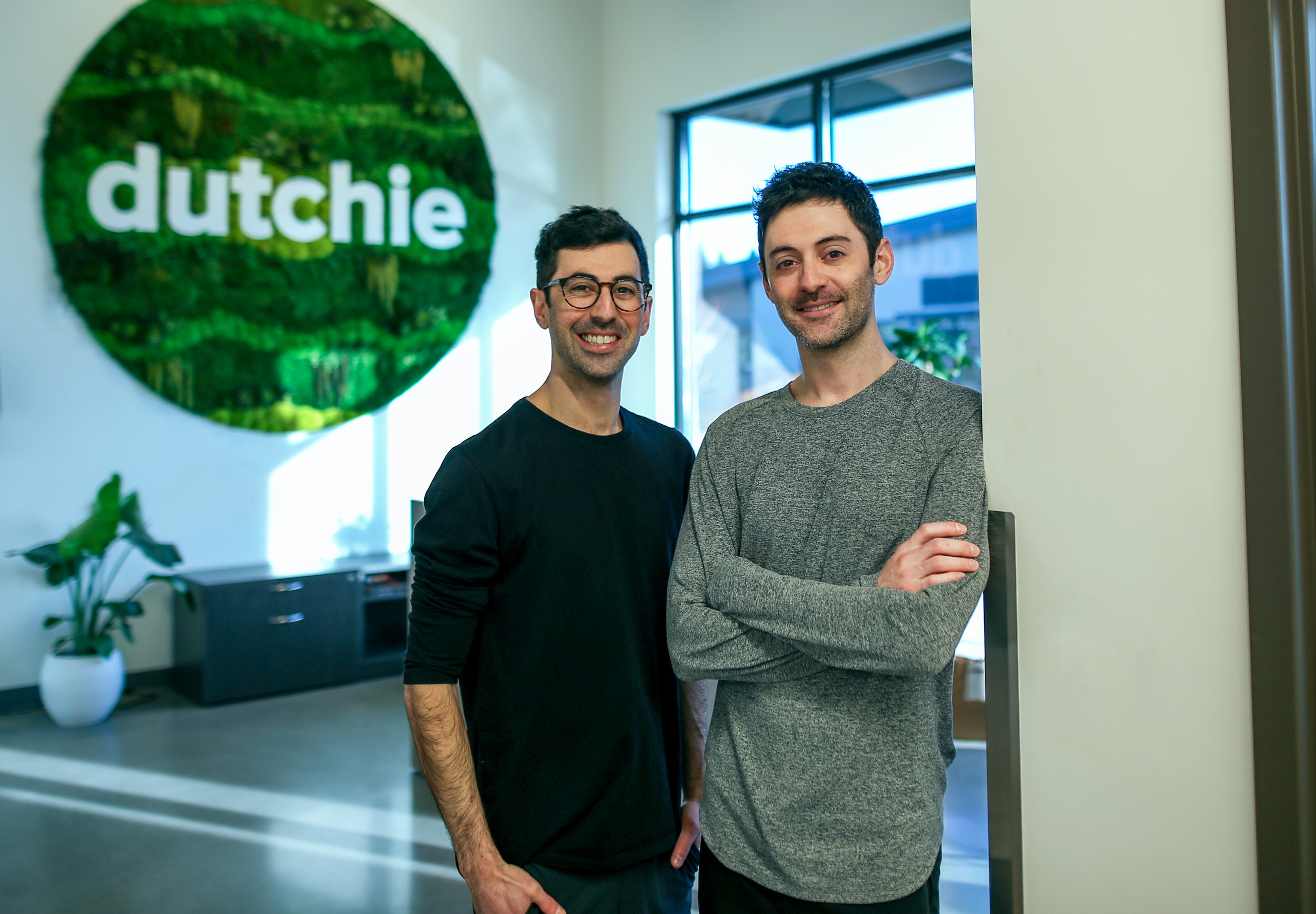 dutchie co-founders, Ross and Zach